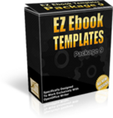 Product picture *NEW!* EZ Ebook Template Package 9 - Master Resale Rights
