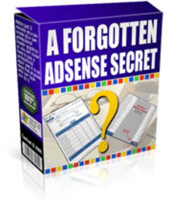 Product picture *NEW!* A Forgotten Adsense Secret - Resale Rights Included