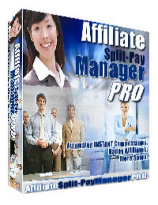 Product picture *NEW!* Affiliate Split Pay Manager Pro with Resale Rights