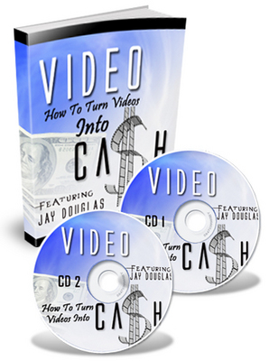 Product picture *NEW!* How To Turn Your Videos Into Cash audio w MRR