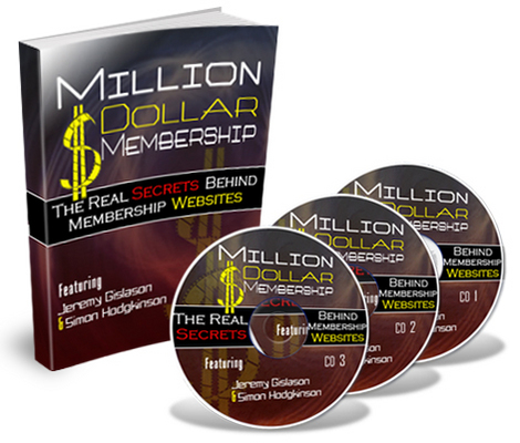 Product picture *NEW!* Million Dollar Membership Audio Course MRR