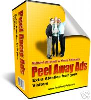 Product picture *NEW!* Page Peel Away Ads -  Resale Rights | Web 2.0 Marketing Technique in Your Hands