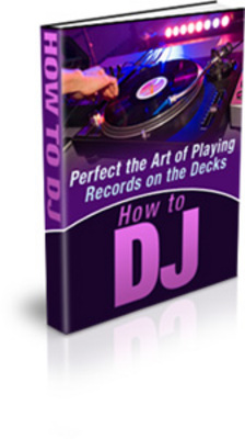 Product picture *NEW!* How To Dj Ebook - Private Label Rights