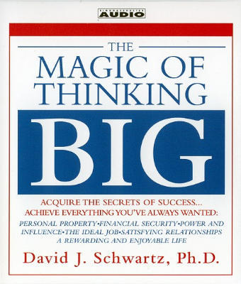 Product picture  *NEW!* Magic of Thinking Big David J. Schwartz
