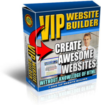 Product picture *NEW!* Vip Website Builder - Website Creation Made Easy