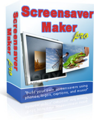 Product picture *NEW!* Screensaver Maker Pro - With Private Label Rights