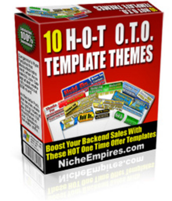 Product picture *NEW!* 10 Oto Templates With Flash Button! Mrr