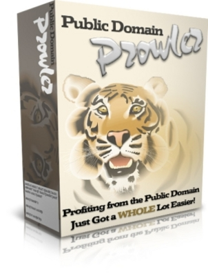 Product picture *NEW!* Public Domain Prowler Master Resale Rights Included