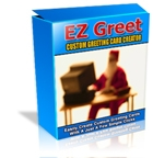 Product picture *NEW* EZ Greet Christmas Greeting Card Software - MASTER RESALE RIGHTS | Greet Custom Greeting Card Maker