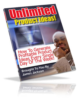 Product picture *NEW!* Unlimited Product Ideas -  Master Resell Rights | How To Get Product Ideas Every Day Of The Week!