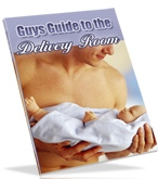 Product picture *NEW!*   Guy s Guide to the Delivery Room , BIRTHING ROOM