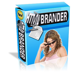 Product picture *NEW!*  HTML Brander Software | Easily Create a Branded Website For Affiliates .