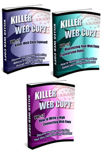 Product picture *NEW!* Killer Web Copy - MASTER RESALE RIGHTS | How to Become an Expert Copywriter Within Days