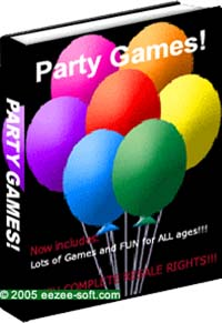 Product picture *NEW!* Party Games for Children, Teens and Adults Ebook