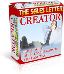 Product picture *NEW*  Sales Letter Creator Software | Build Your Website And Write Your