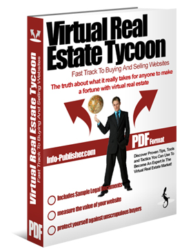 Product picture *NEW!*	 VIRTUAL REAL ESTATE TYCOON - MASTER RESALE RIGHTS | The Fast Track To Buying And Selling Websites