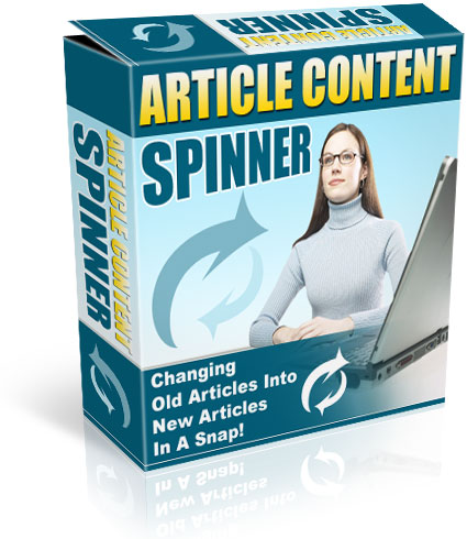 Product picture *NEW!* Article Content Spinner - Create Unique Content    Website Content Provider Software