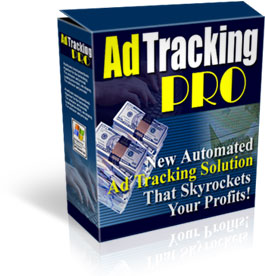 Product picture *NEW!*  Ad Tracking PRO - PRIVATE LABEL RIGHTS | Sales Software Tracking
