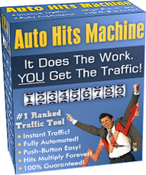 Product picture *NEW!*  Web Site Traffic Generator: Auto Hits Machine - Resale Rights