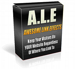Thumbnail  *NEW!*	   Awesome Link Effects  - Master Resale Rights - Discover The Easy Way To Keep Your Customers On Your Site