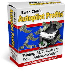 Product picture *NEW*  Ewen Chia s Autopilot Profits | A Simple But Extremely Powerful turnkey sustem. Once Set up You Can make Easy Profits On Complete Autopilot!