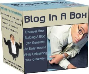 Product picture *NEW!* Blog In A Box - Blogging Tools & Templates  Your Complete Blogging Solution! With Master Resale Rights!!!