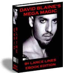 Product picture *NEW*   David Blaine Mega Magic -  Card Tricks, Coin Tricks, Street Magic, Pub and Bar Tricks, More Magic
