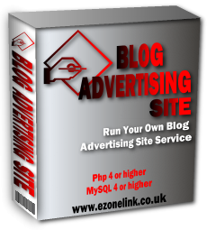 Product picture *NEW!*  Blog Advertising Site Script - MASTER RESALE RIGHTS | Run Your Own Blog Advertising Site Service