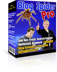 Product picture *NEW* Blog Spider Pro | Auto-Blog Builder script