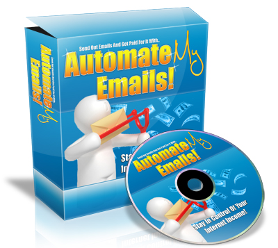 Thumbnail  *NEW!*	   AutomateMyEmails - Get Paid For Sending Out Emails!  - Master Resale Rights