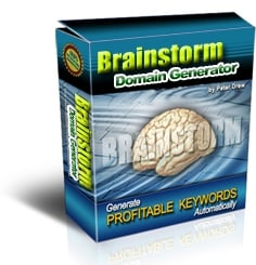 Thumbnail *NEW!*  Brainstorm Domain Generator - The Revolutionary New Way to Uncover Profitable Keywords Instantly - PRIVATE LABEL RIGHTS