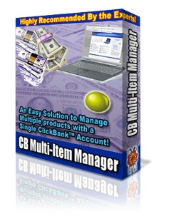 Product picture *NEW!* Clickbank Multi Item Manager  - MASTER RESALE RIGHTS | Easy Solution to Manage Multiple ClickBank Products