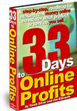 Product picture *NEW *  33 Days to Online Profits: Powerful Internet Marketing Strategy, Tips and Website Promotion Secrets for Any Product or Service You Sell