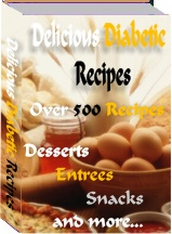 Thumbnail *NEW!*  Delicious Diabetic Recipes  - MASTER RESALE RIGHTS