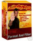 Product picture *NEW!* Ezine Format Filter Software + Master Resell Rights