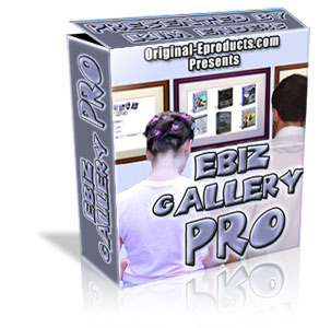 Product picture *NEW!* Ebiz Gallery Pro  - MASTER RESALE RIGHTS | Managing Your Web Graphic Portfolio A Lot Easier!