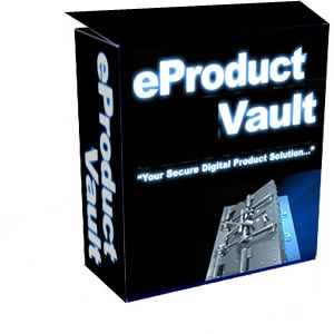 Product picture *NEW!* e-Product Vault - Master Resell Rights | eProduct Vault -  Protect Your Digital Files From Cyber Thieves Now!