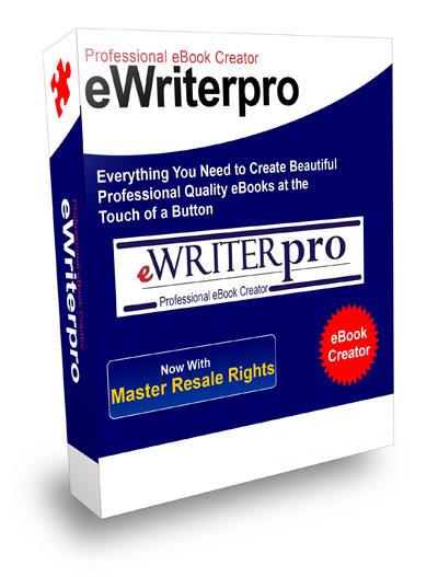 Thumbnail *NEW!* eWriterPro Professional Ebook Creator - Master Resale Rights