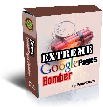 Product picture *NEW!* Extreme GooglePages Bomber Software  - MASTER RESALE RIGHTS | Extreme Live Blog Article Automator