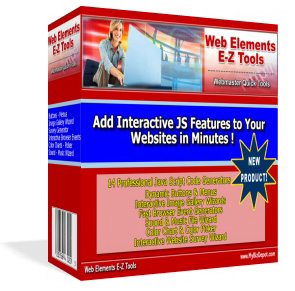 Product picture *NEW!* WEB ELEMENTS E-Z Tools | Quick Tools for Webmasters