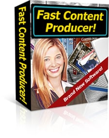 Product picture *NEW!* Fast Content Producer Software Program
