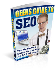 Product picture *NEW!*	 Learn Search Engine Optimization | The Geeks Guide to SEO - MASTER RESALE RIGHTS
