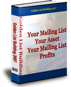 Product picture *NEW!* Golden List Building - PRIVATE LABEL RIGHTS | Step-By-Step Guide To Building Your Very Own Responsive Opt-In Mailing List!