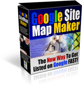 Product picture *NEW* Google Sitemap Maker - MASTER RESELL RIGHTS |Google Sitemap Generator - Site Map Builder, XML Sitemaps, Easy