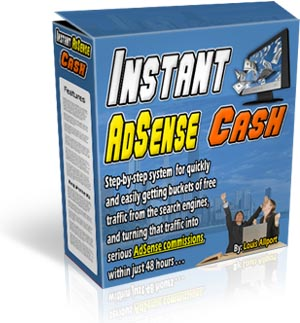 Product picture *NEW*   Instant Adsense Cash - MASTER RESALE RIGHTS | Start Making Serious AdSense Commissions Within The Next 48 Hours...