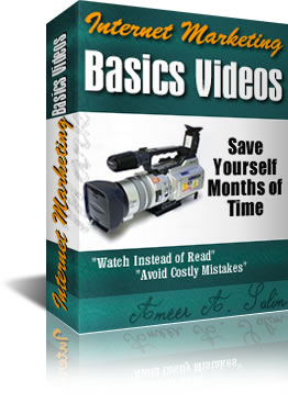 Product picture *NEW!* Internet Marketing Basics Videos - 291 Minutes of Exclusive Video Tutorials