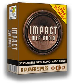 Product picture *NEW!* Impact Web Audio Software | Streaming Web Audio Made Easy!