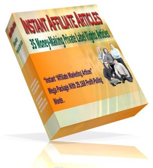 Product picture *NEW!*  35 Instant Affiliate Articles    35 Money-Making Private Lable Rights Articles Affiliate Marketing