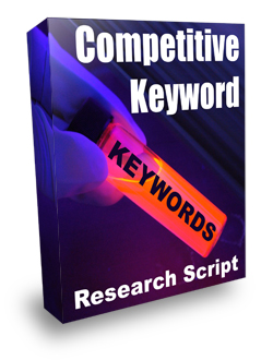 Product picture *NEW*  Competitive Keyword Research Script  - Resale Rights | Instant Keyword Research Tool