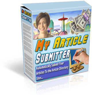 Product picture *NEW!* My Article Submitter Software - MASTER RESALE RIGHTS   Drive Insane Traffic To Your Web Site